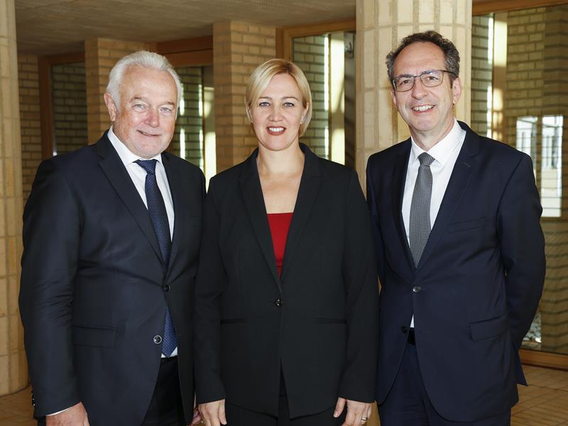 Gunilla Marxer-Kranz trifft Wolfgang Kubicki