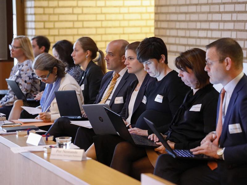Die Teilnehmer der Konferenz (Foto: Paul Trummer)