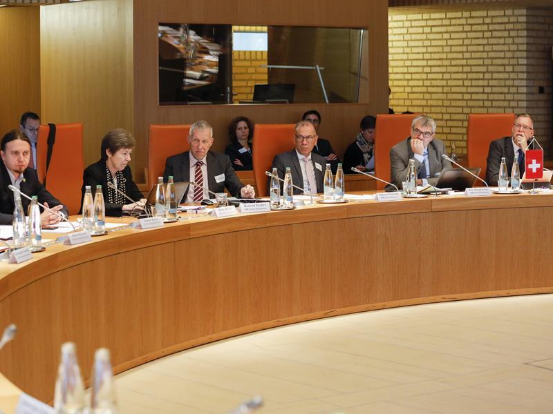 Die Delegation aus der Schweiz (Foto: Paul Trummer)
