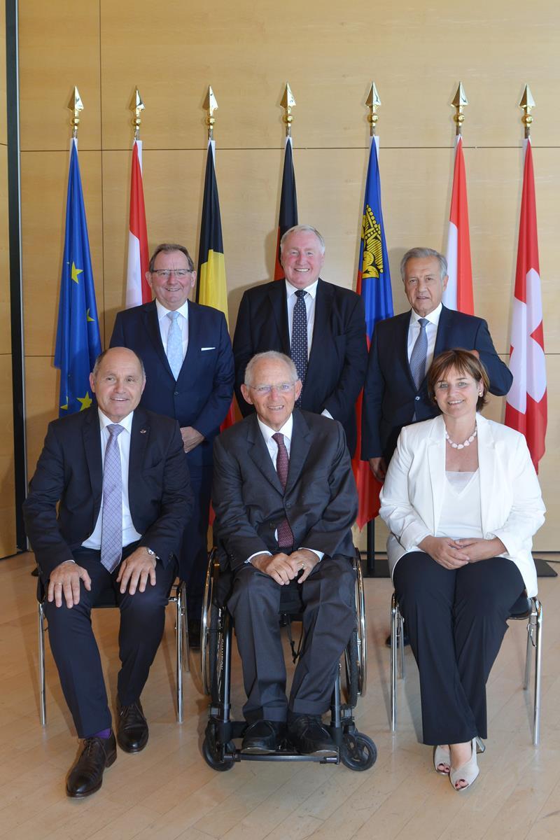 Treffen ParlamentspräsidentInnen deutschsprachiger Länder 23./24.7.2019 in Bregenz