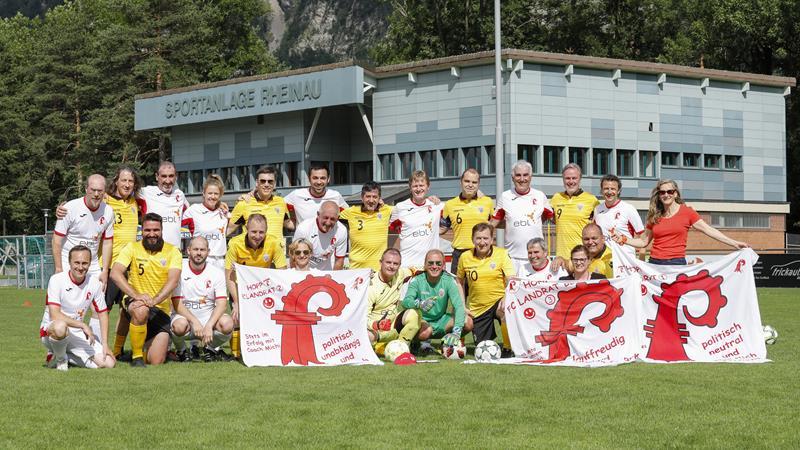 Landtagsauswahl FL - FC Landrat BL