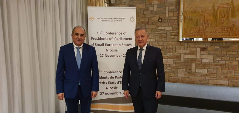 Präsidentenkonferenz in Zypern