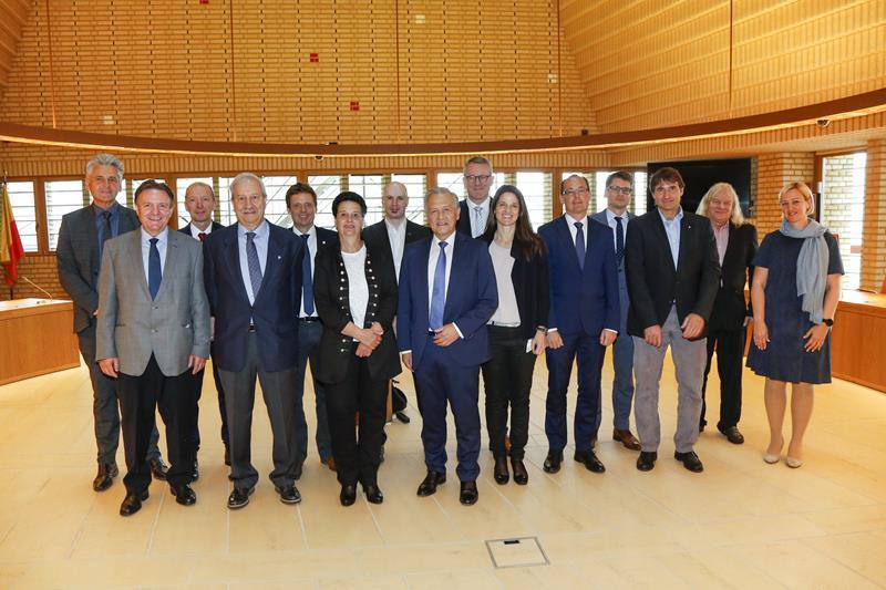 Grossrat von Graubünden besucht den Landtag