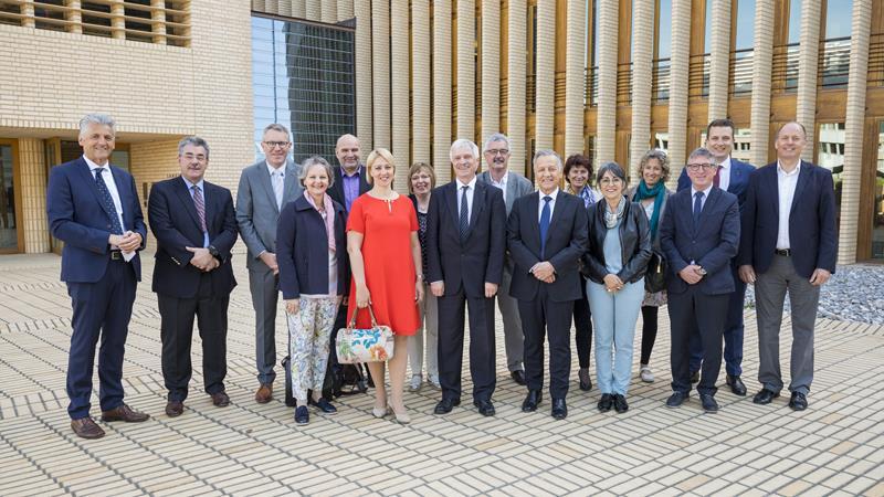 Das Präsidium des Grossen Rates von Aargau und das Präsidium des Liechtensteiner Landtags