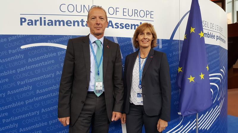 Herbstsession der Versammlung des Europarats